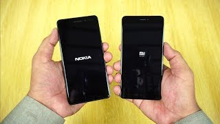 Nokia 6 vs Redmi Note 4 Speed Test [Urdu/Hindi]