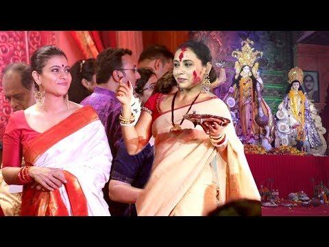 Xxx Mp4 Bollywood Celebs Durga Puja 2018 Kajol Rani Mukherjee Aamir Khan Wife Sushmita Sen 3gp Sex