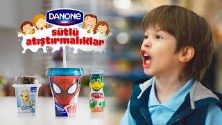 Danone Sütlü Atıştırmalıklar Reklamı