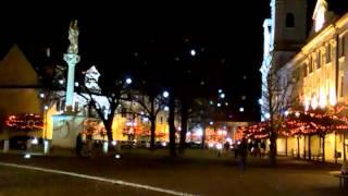 Skalica, vianocna vyzdoba 2013