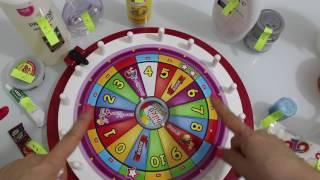 ÇARKI SLİME!! Slime Çarkından Masmavi Metalik Slime Yapmak - Bidünya Oyuncak