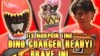 Its Morphin Time Dino Charger Ready! Brave In! [Fan film]