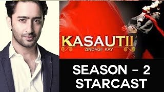 Shaheer in Ekta Kapoor's Kasauti Zindagi Ki 2 - Indian Television News