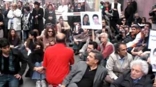 درگیری مردم و کارکنان سفارت رژیم در پاریس