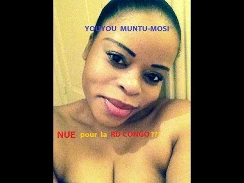 YOUYOU MUNTU-MOSI  NUE POUR LA RDC ???