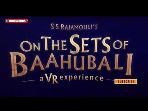 On The Sets of Baahubali -