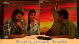 Rapid Fire With Deepika Padukone & Ranveer Singh - Goliyon Ki Raasleela Ram-leela