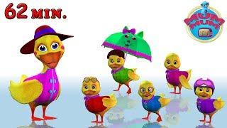 Five Little Ducks, Ants Go Marching & more Nursery Rhymes for Children Songs | MUM MUM TV