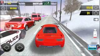 Racing In Car 3D / Actions Racing Game/ High-Speed Cars / Android Gameplay Video