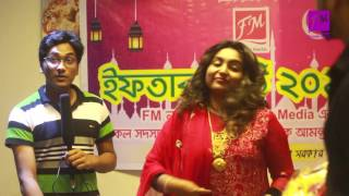Singer Sharmin Dipu in the Iftar Party 2016 of Friends Media