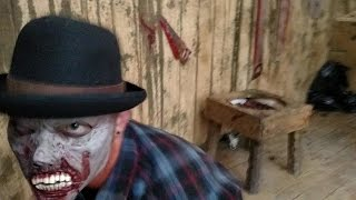 Lumberhack Haunted House (DayTime) - Full HD - 2015 Howl O Scream Busch Gardens