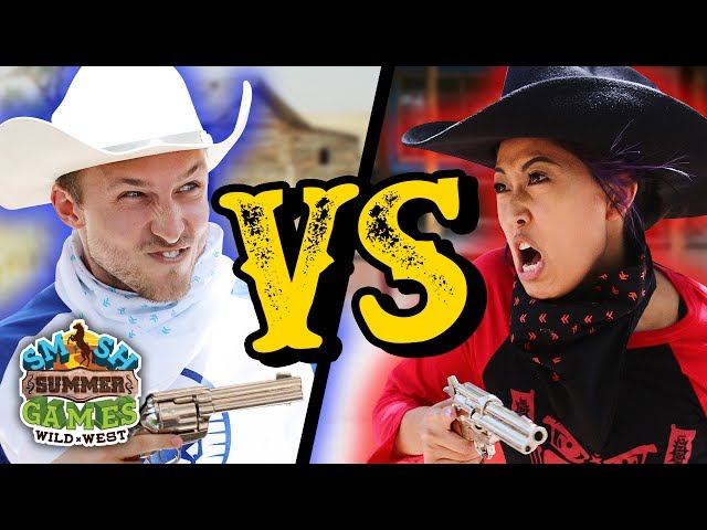SHOOTOUT TO THE DEATH CHALLENGE (Smosh Summer Games)
