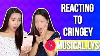 Reacting To OUR Cringey Musical.lys! | Caleon Twins