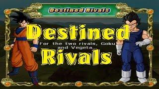 Dragonball Z Budokai Tenkaichi 2 - Story Mode -  Destined Rivals