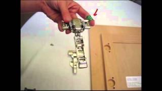 How To Install Blum Hinges & Hang Your New Cabinet Doors Part 1