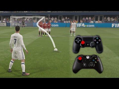 FIFA 17 Knuckleball Power Free Kick Tutorial