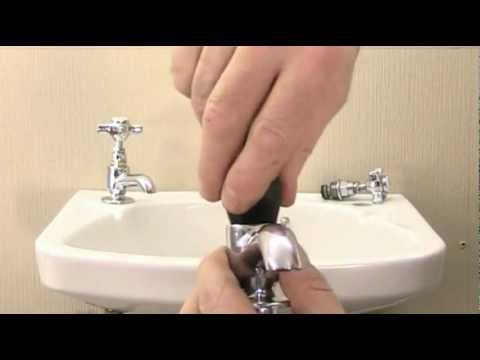 How to reseat a dripping tap using a tap reseating tool.