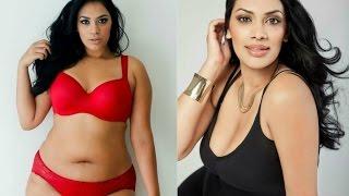 Tinder Badhesha Hot Plus Size Indian Model