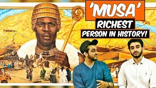 Mansa Musa - The Richest Person in History! l The Baigan Vines