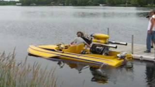 """No Joke"" Hydroplane Run Carleton Place Car Show 2010"