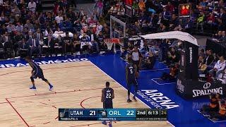 2nd Quarter, One Box Video: Orlando Magic vs. Utah Jazz