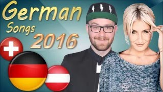 Best German Songs 2016 // Deutschsprachige Lieder! HD