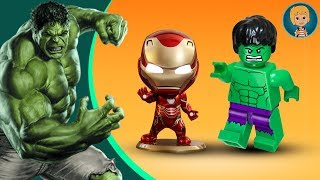 IRON MAN HULK Heroes United GAMEPLAY 1 - LEGO Marvel Superheroes Universe in Peril