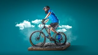 Photoshop Manipulation Tutorial   Photo Effects The Cyclist