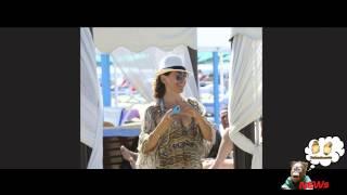 Barbara d'Urso hot al Twiga mette in mostra la scollatura