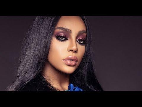 glam makeup dark skin  مكياج البشرة السمراء