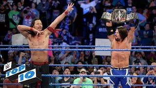 Top 10 SmackDown LIVE moments: WWE Top 10, January 30, 2018