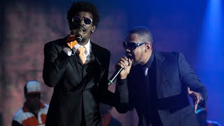 Edi Rock ft. Seu Jorge - That's My Way ao vivo no VMB