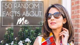50 FACTS ABOUT ME TAG | Jasmina Bharwani