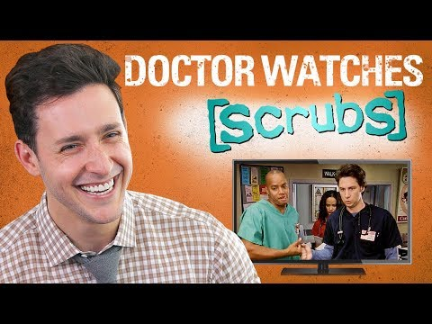 Real Doctor Reacts to SCRUBS Medical Drama Review Doctor Mike