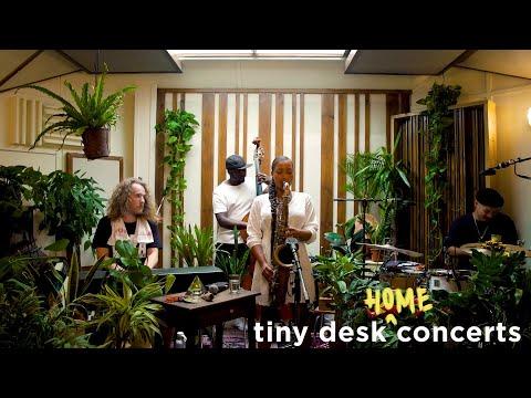 Nubya Garcia Tiny Desk Home Concert