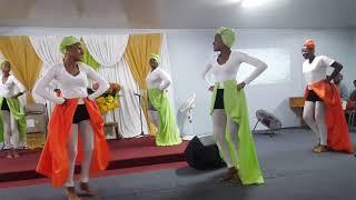 Tephillah Apostolic Center dance group (Ada only you jesus)