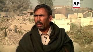 Gravedigger emotionally affected as bodies from school massacre start arriving
