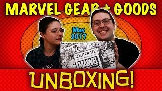 UNBOXING! Marvel Gear + Goods May 2017 - Cosmic Beach Party - From Loot Crate