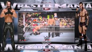WWE TOP Seth Rollins vs Randy Orton WWE Wrestlemania HOT HD