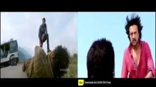 Prabhas (Mirchi) Vs Kichha Sudeep(Maanikyam)
