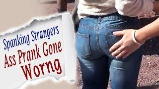 Spanking Strangers Ass