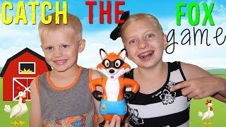 Catch the Fox!! Don't Wake Me    Family Game Night