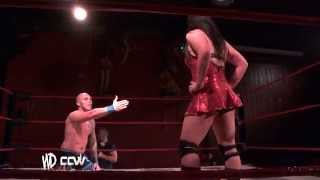 Intergender Wrestling // Kazza G V Xavier Burns