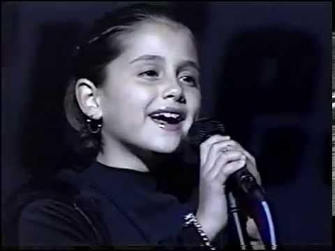 Ariana Grande at 8 years old