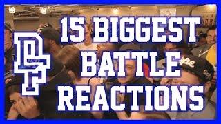 15 BIGGEST BATTLE REACTIONS | Don