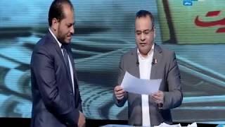 مانشيت القرموطي   جابر القرموطي يحول الاستوديو لـ لجنة إنتخابية ويجري الإنتخابات على الهواء