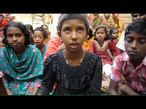 Bangladeshi girl singing