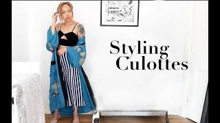 SHOPPING & STYLING CULOTTES | Samantha Maria