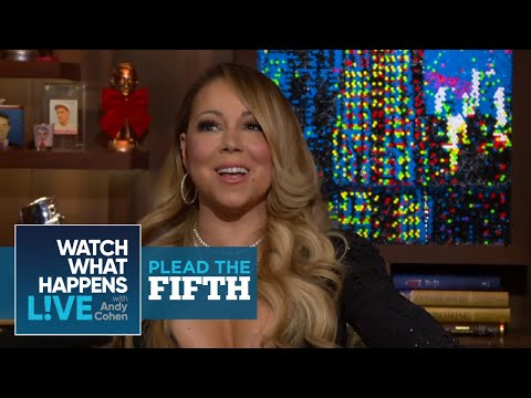Mariah Carey Doesn t Know Demi Lovato Either Plead the Fifth WWHL