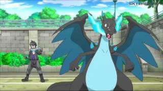 Pokémon XY&Z Clip - Ash Vs. Alain - Mega Charizard Vs. Greninja